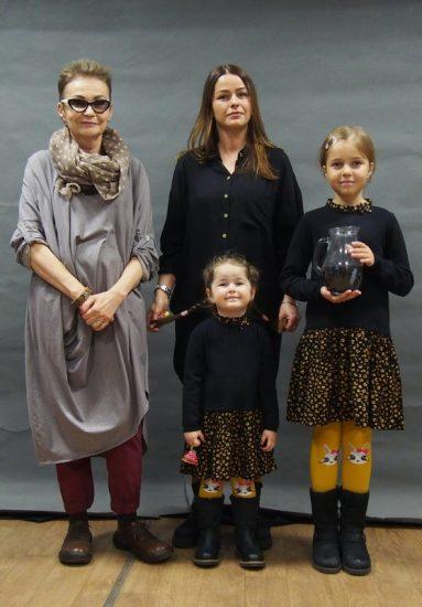 Арина Манн с семьей. Фото: Ирина Ларионова