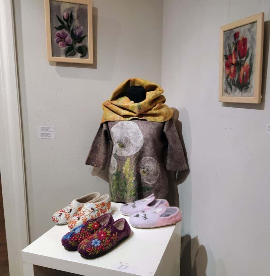 На выставке «Тепло Севера. Войлок» в Петрозаводске