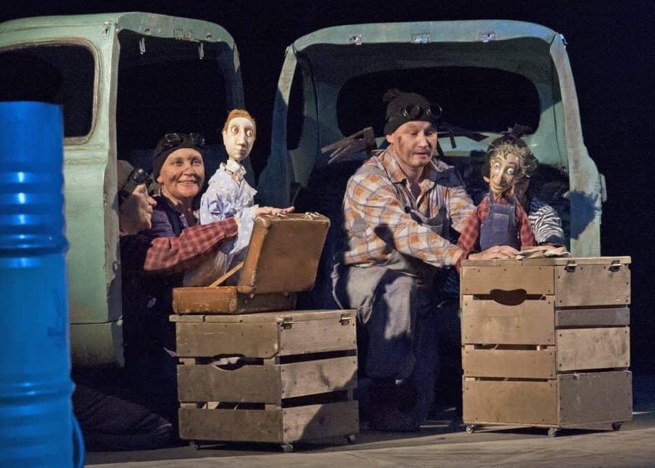 """Спектакль """"Железо"""". Фото: Театр кукол РК"""