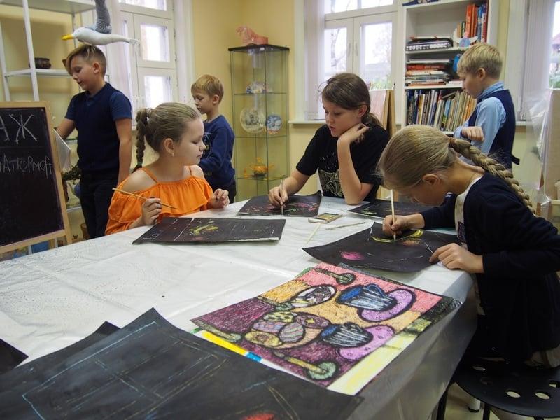 "Детская студия ""Кижская палитра"". Фото: Ирина Ларионова"
