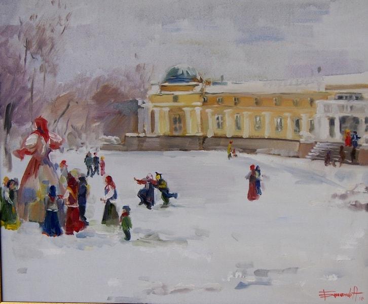 Анна Баженова. Масленица в Марьино