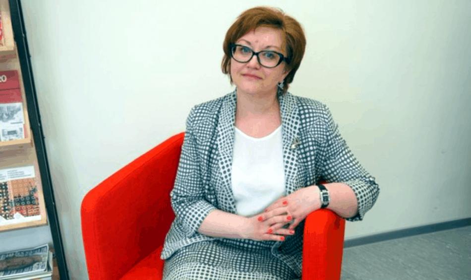 Директор петрозаводского лицея №1 Анжелика Гуденко. Фото: Мария Голубева