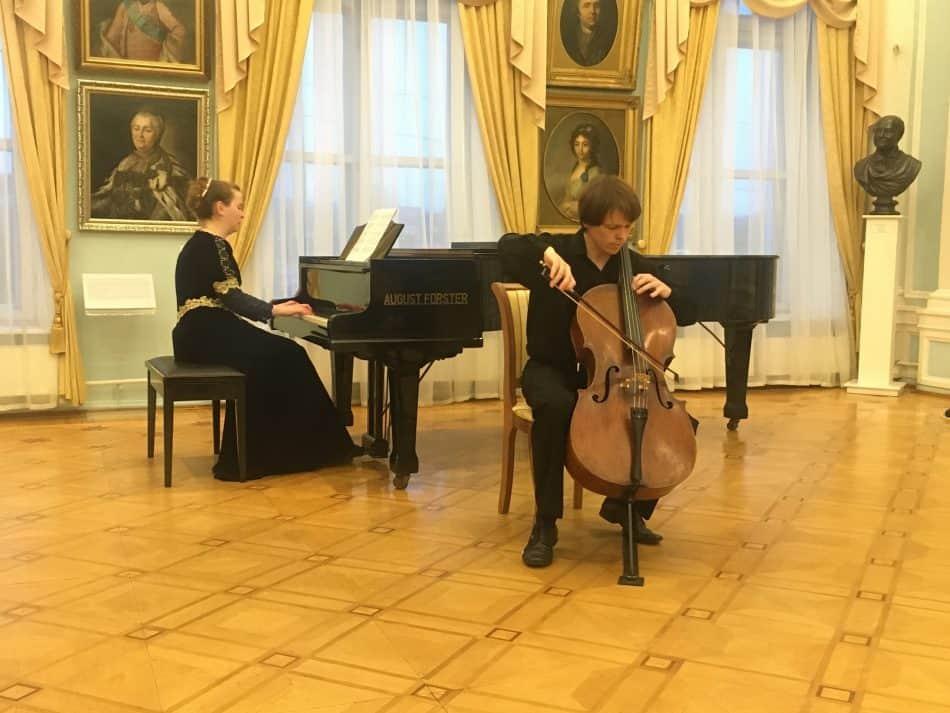 Анастасия Бойко-Харламова и Мстислав Харламов. Фото: Анна Лесонен