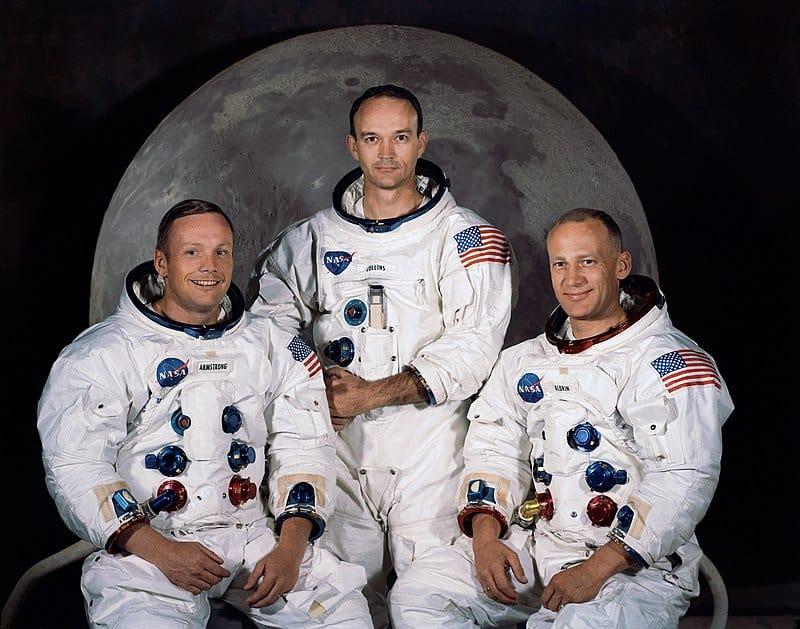Слева направо: Нил Армстронг, Майкл Коллинз, Эдвин Олдрин. Фото: ru.wikipedia.org Олдрин.