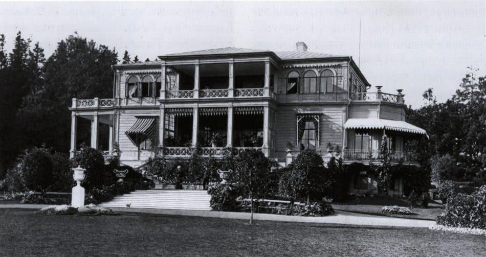 Дом Авроры Карамзиной в имении Тресканда,1880-е годы