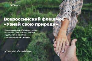 В Карелии стартовал новый онлайн-флешмоб «Узнай свою природу»