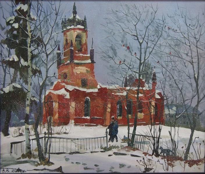 Василий Шевчук. Церковь в Марьино