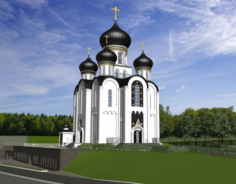 Проект храмового комплекса на Кукковке. Архитекторы Василий Агапов и Андрей Гречкин