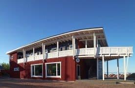 Гостевой дом «Рыбацкий причал» в посёлке Кварцитный. Архитектор Эмиль Кулдавлетов