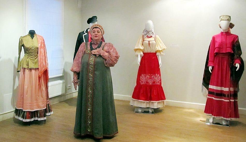 Солистка Пудожского народного хора Татьяна Медведева