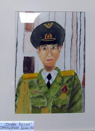 «Служу России!». Дага Омельченко, 12 лет
