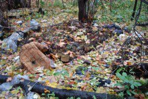 Свалка в старой части кладбища у Екатерининской церкви. Фото: Сергей Хохлов