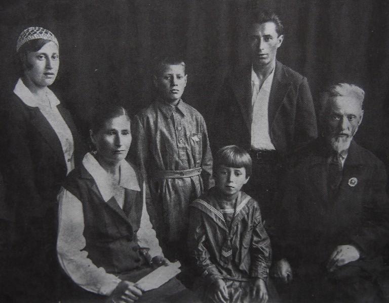 Семья Ольги и Сергея Смирновых,бабушки и дедушки со стороны мамы
