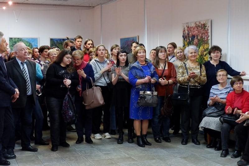 Открытие выставки в ГВЗ 21 ноября 2019 года