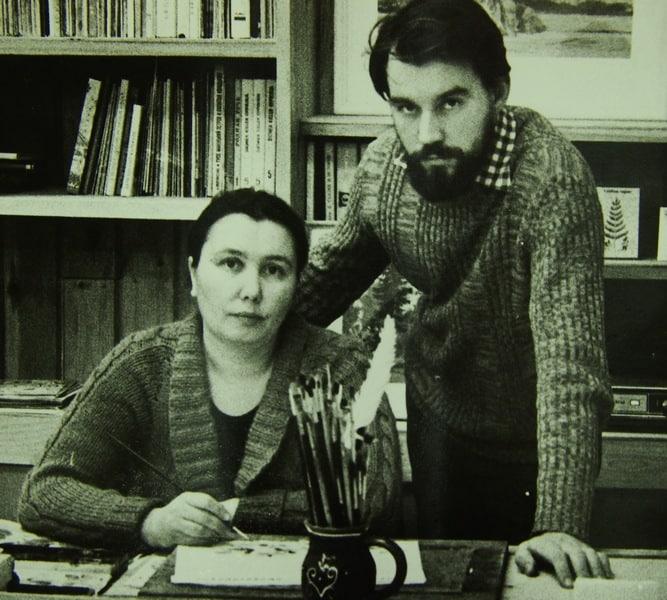 Сергей И Валентина Чиненовы. Фото Евгения Баженова