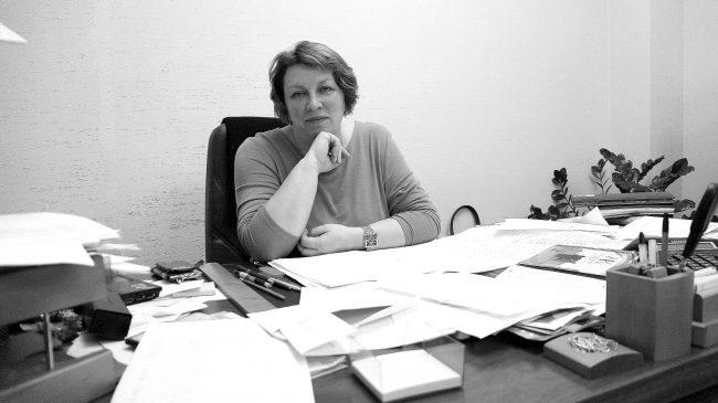 Елена Ларионова. Фото: Ирина Ларионова