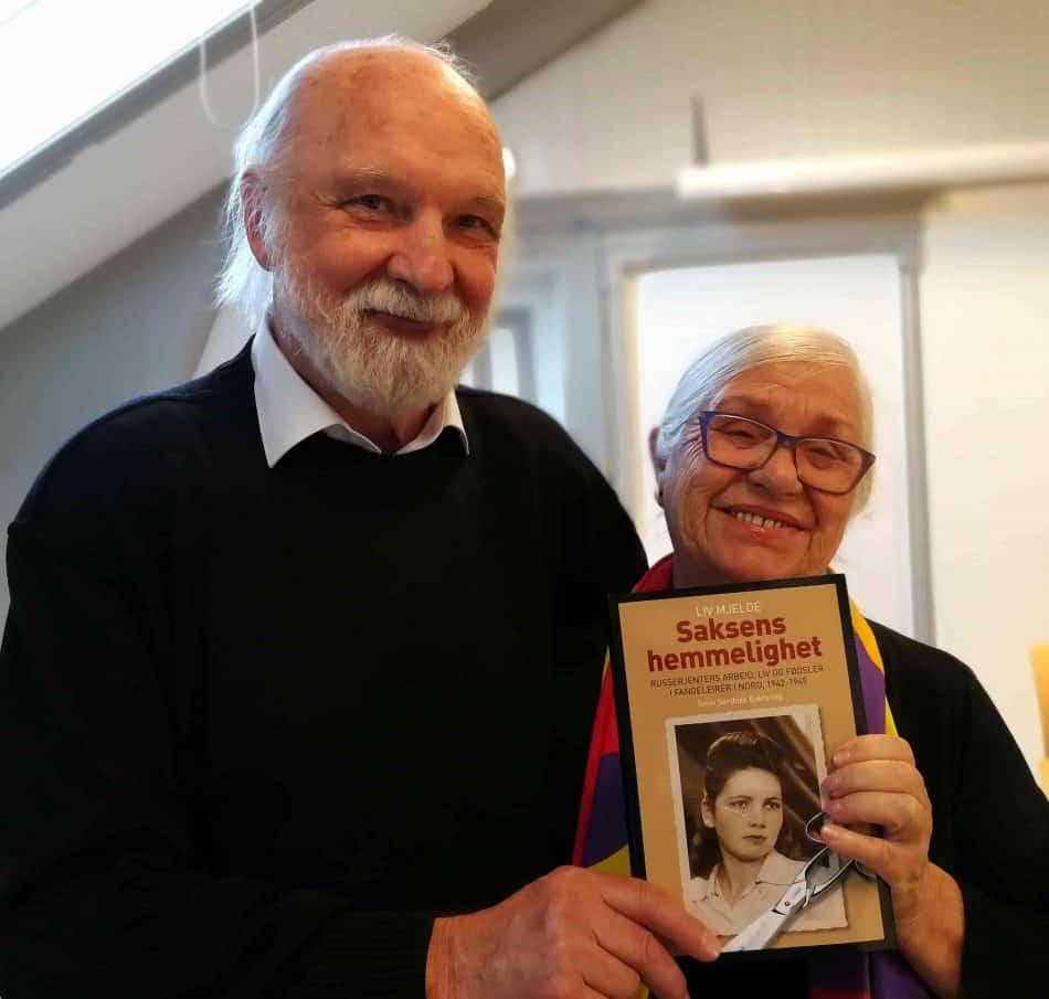 Юрий Сальников с Лив Мьелд. Фото Тамары Сушко