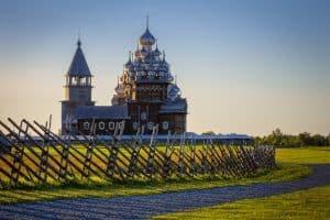 На острове Кижи. Фото: Александр Воробьев/vk.com/kizhi_museum