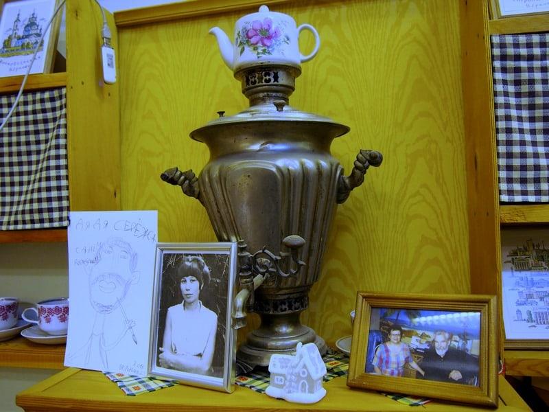 В мастесркой Сергея Чиненова. Фото Ирины ларионовой