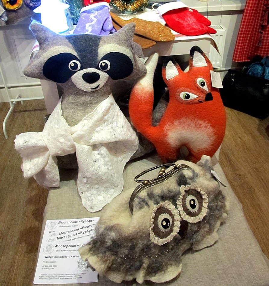 Войлоковаляние – сегодня один из популярных видов рукоделия в Петрозаводске