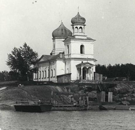 Сретенская церковь, перестроенная в 1913 году