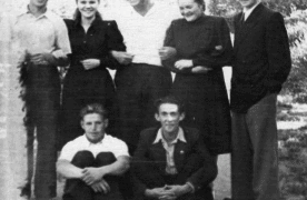 Выпускники техникума 1948 года. Из архива А.А. Воронцовой (Ивановой)