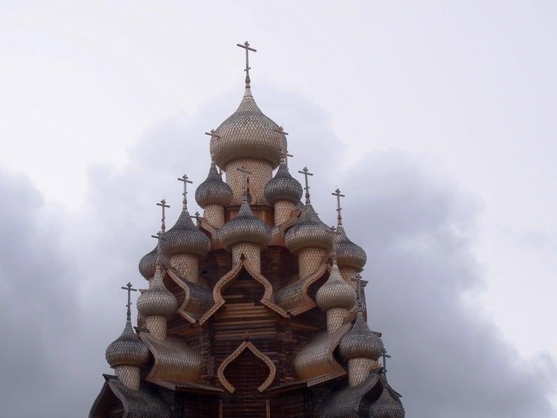 Преображенская церковь на острове Кижи. Фото Ирины Ларионовой