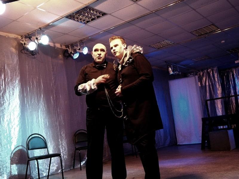 Пьетро (Влад Балицкий) и Цезарь Борджия (Слава Захаров)