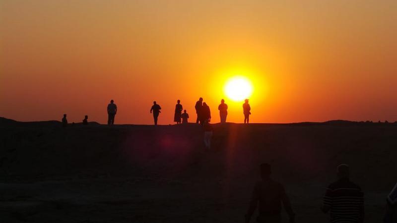 Ирак, шумерские города.  Фото Лидии Винокуровой