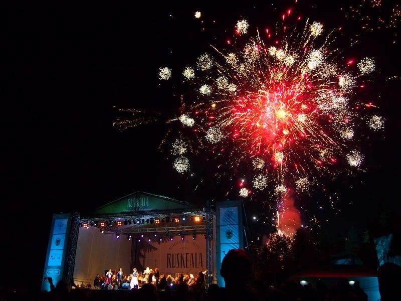 Фестиваль в Рускеале. Фото Ирины Ларионовой