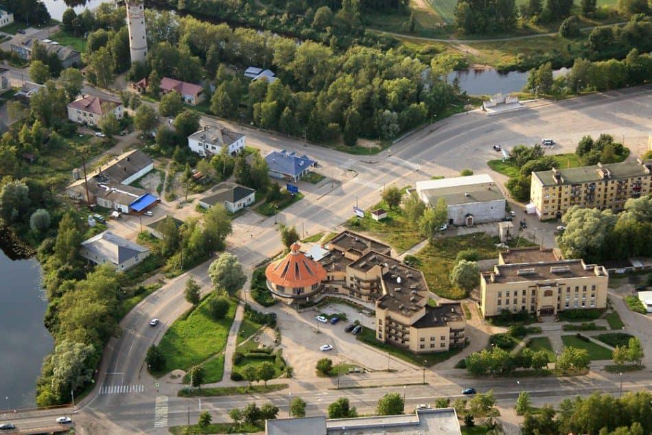 Центральная часть Олонца. Фото Бориса Босарева