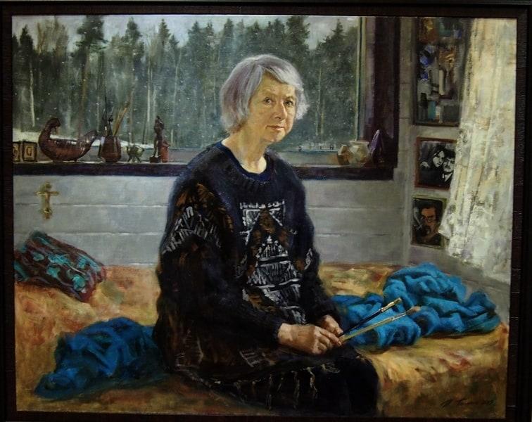 Павел Поляков. Портрет матери
