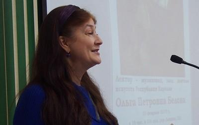 Ольга Белова. Фото Ирины Ларионовой