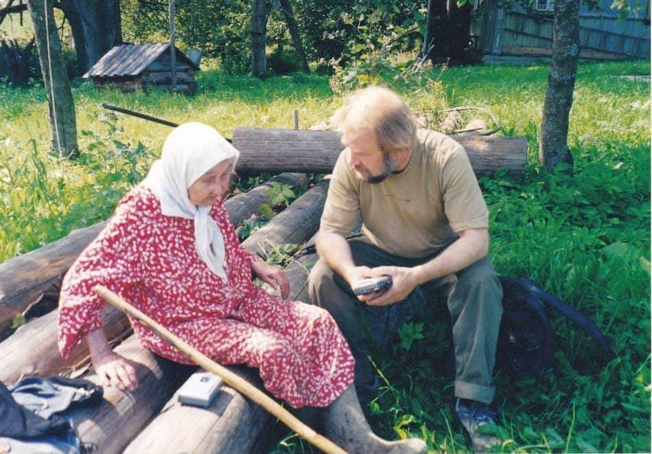 Алексей Коннка в экспедиции