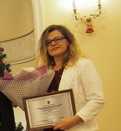 Анастасия Сало. Фото Ирины Ларионовой