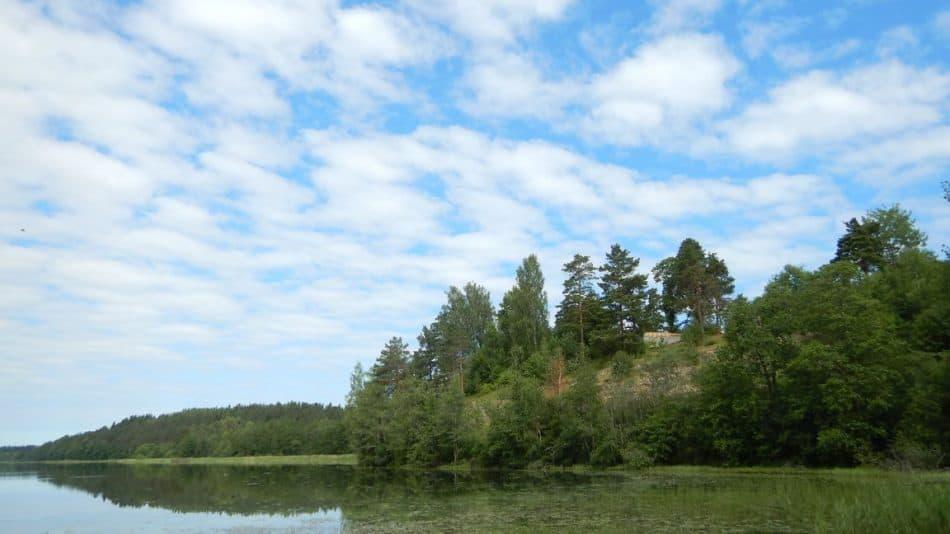 Озеро Райватталанлампи. Лето 2018 года