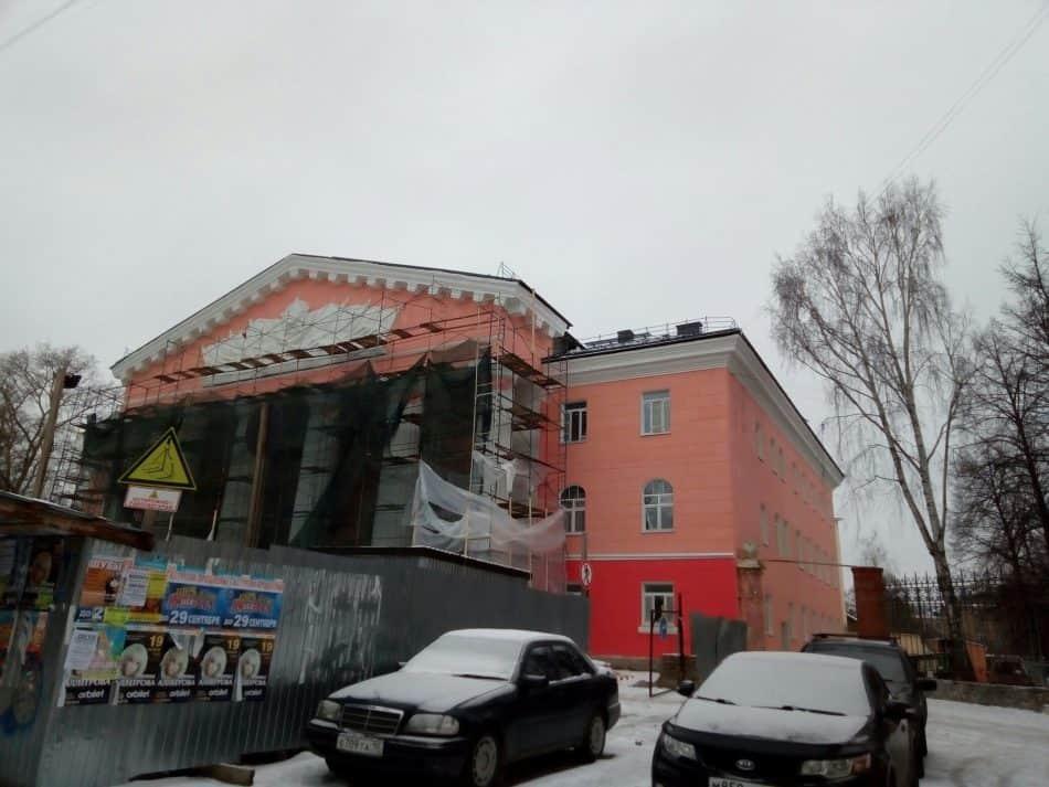 Дом офицеров 15 декабря 2019 года. Фото Натальи Мешковой
