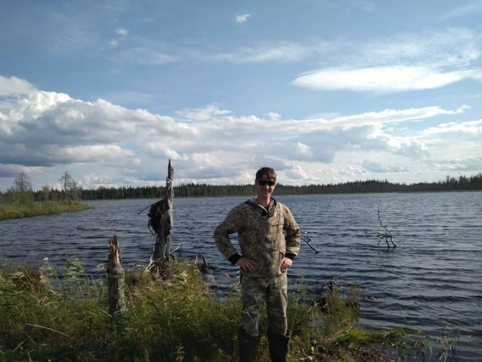 Озеро Грязное, Медвежьегорский район. Лето 2017 года