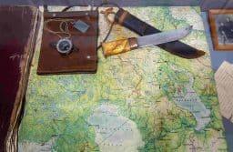 У финнов был традиционный нож. У всех разные. Этот лапландский. Из коллекции Валерия Лазарева