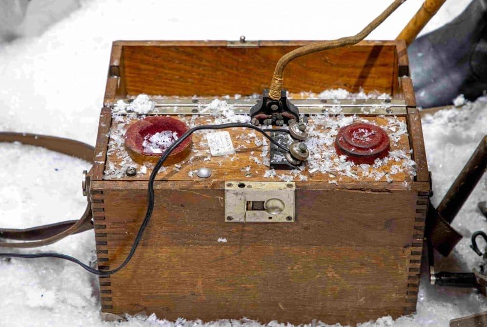 Полевые телефоны у финнов были эстонские. С миру по нитке... Из коллекции Валерия Лазарева