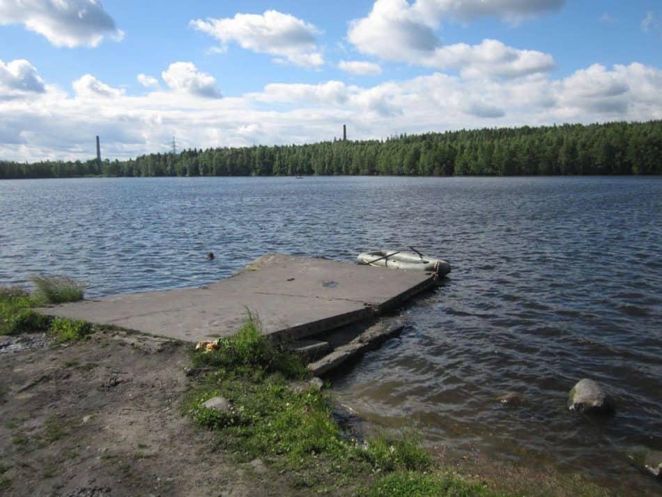 Озеро Четырехверстное. Лето 2013 года