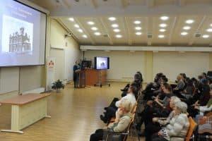 Лекция Ирины Мелентьевой в Национальной библиотеке Карелии. Фото: library.karelia.ru