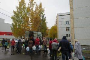 Акция Сбормобиля в Петрозаводске. Фото Светланы Михайловой