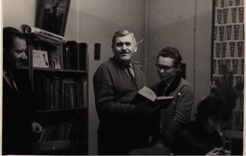 Николай Куспак (слева) и Владимир Раков. 1964 год