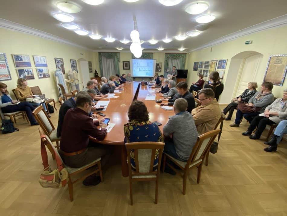 Заседание Общественного совета Национального музея Карелии