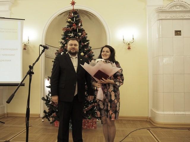 Татьяна Талицкая и Алексей Лесонен. Фото Ирины Ларионовой