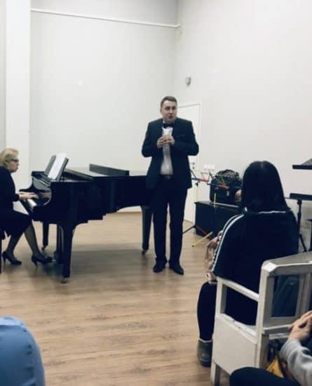 Владимир Горбунов (тенор), концертмейстер Светлана Синцова
