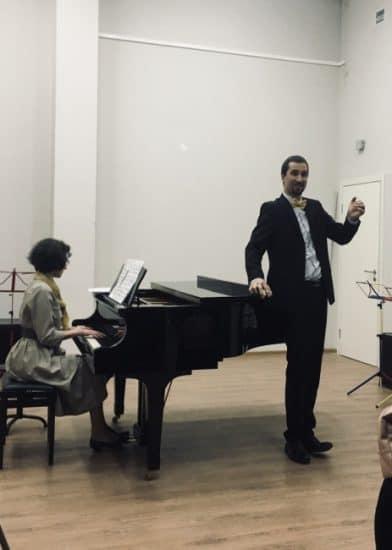 Андрей Господарёв (бас), концертмейстер Анна Двойнишникова