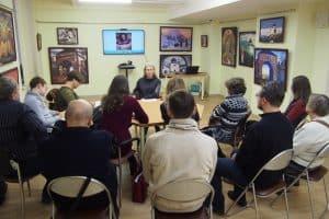 В Национальной библиотеке Карелии продолжается курс лекций Яны Жемойтелите «10 русских философов»