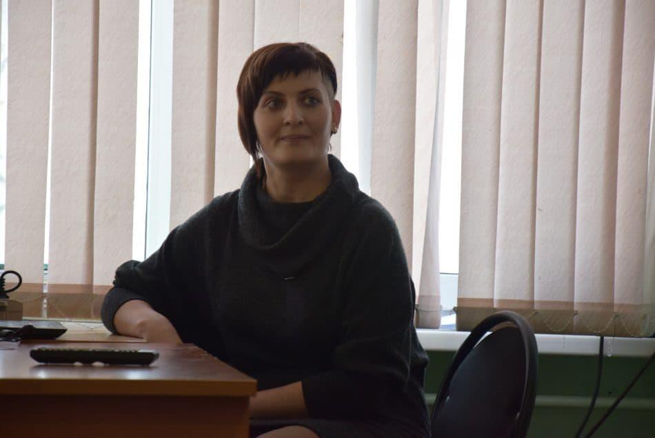 Юлия Байдарова работает в школе 15-й год. Фото Марии Голубевой